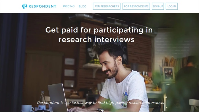 paid research studies with respondent