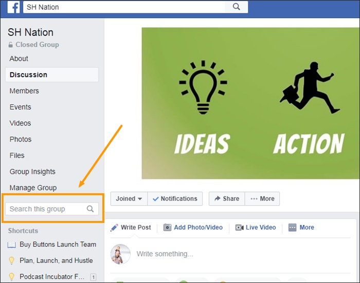 how to use facebook to find side gigs