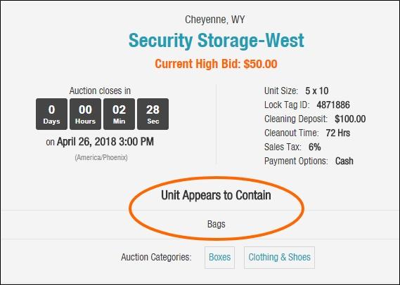 Storage Unit Auctions: Make Money From Abandoned Storage Lockers