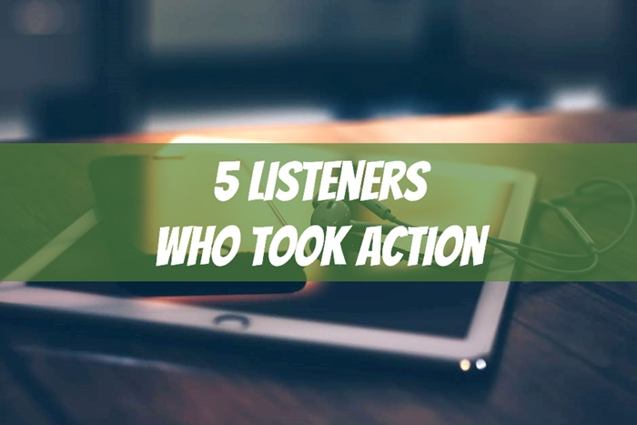 listeners who took action