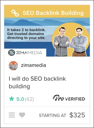 fiverr pro gig image example