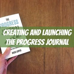 creating the progress journal
