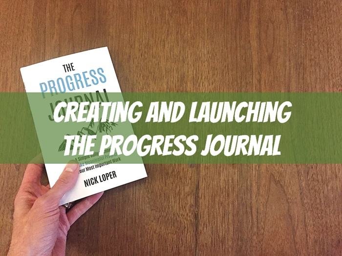 Launching a KDP Print Journal: The Making of The Progress Journal