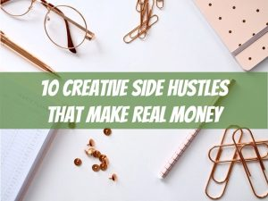 creative side hustle ideas