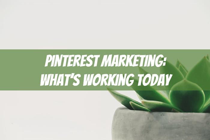pinterest marketing 2019