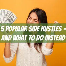 popular side hustles