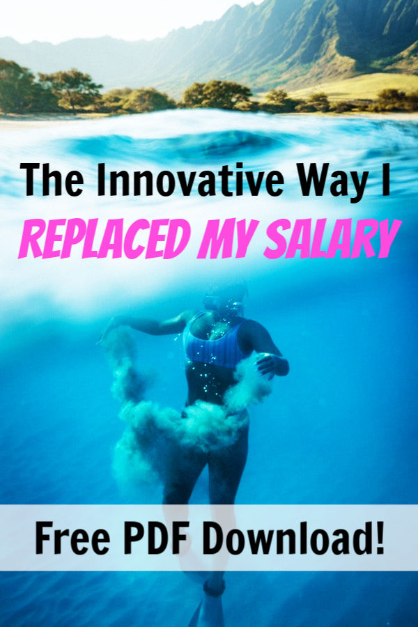 how i replaced my salary