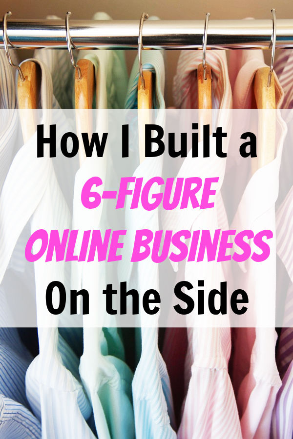 6-figure online business on the side