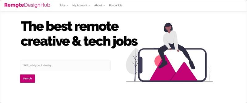 remote design hub