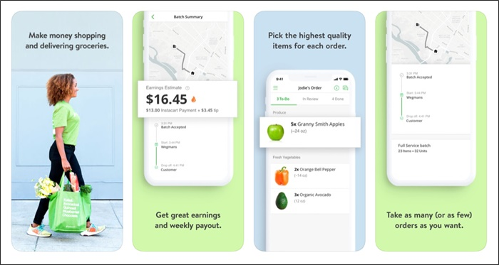 instacart shopper app