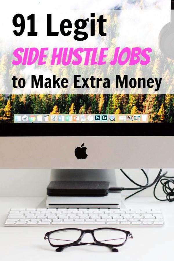 best side hustle jobs