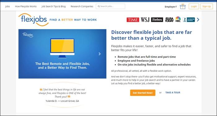 flexjobs for side hustle jobs
