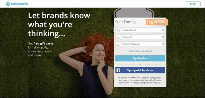 swagbucks homepage