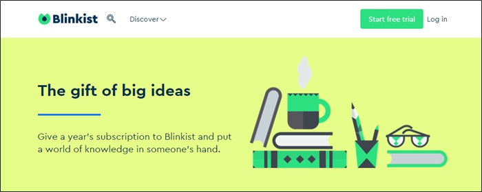 blinkist gift subscription