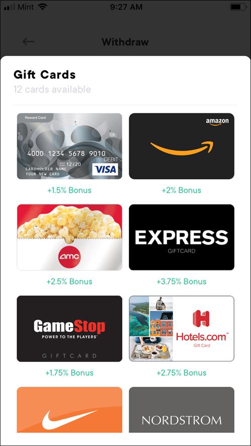 pei app gift card options