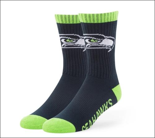 socks from their favorite team