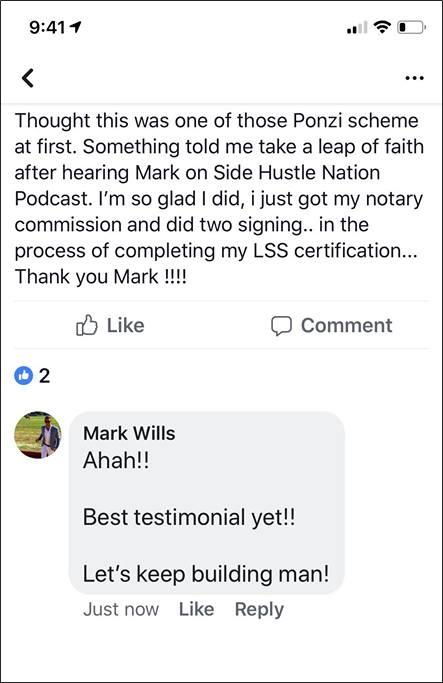 loan signing system testimonials