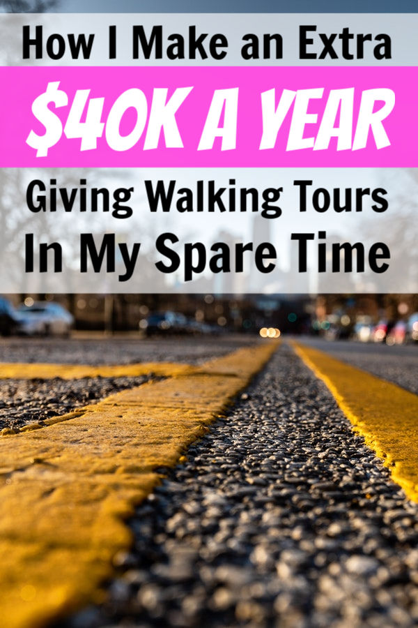 make money as a tour guide