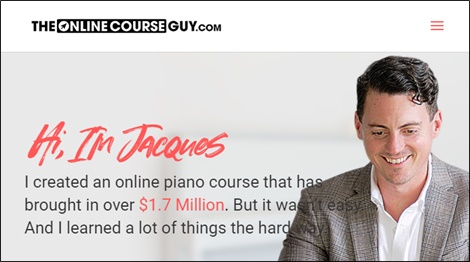 the online course guy