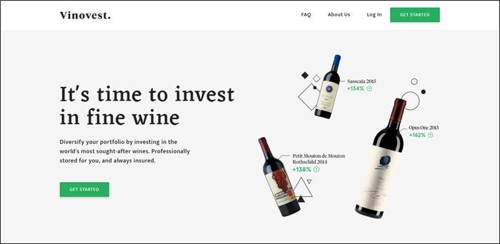 vinovest invest in wine