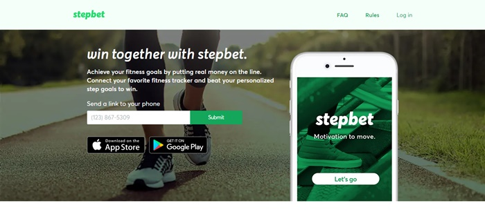 get paid to walk with stepbet