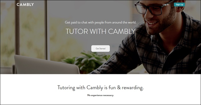 cambly online english tutoring
