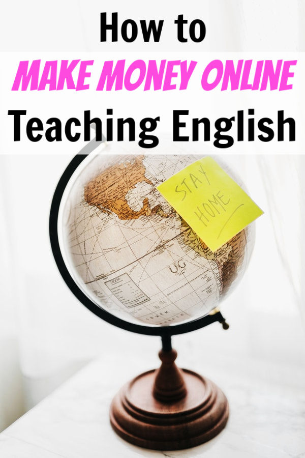 make money online teaching english