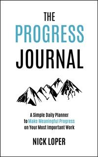 Progress Journal cover