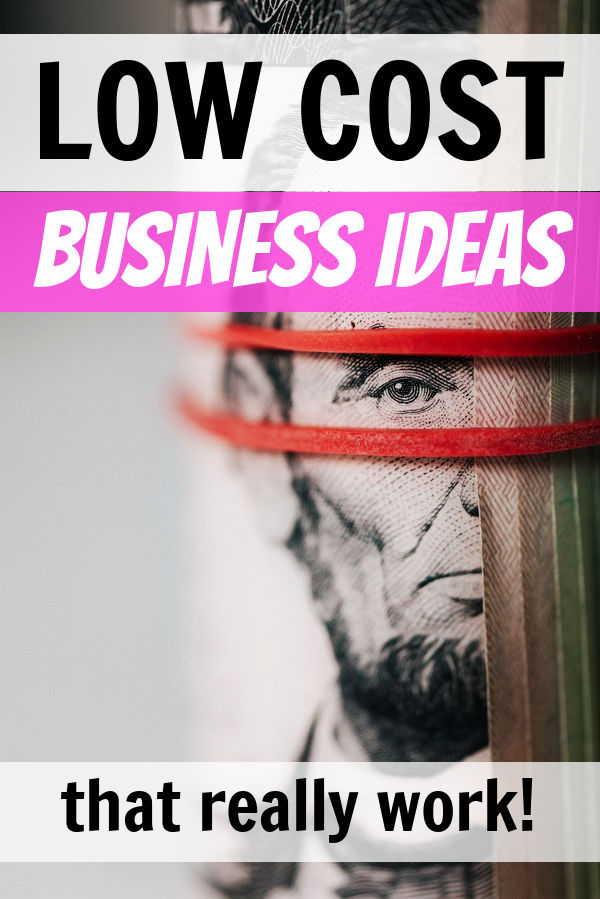 business ideas with low startup costs