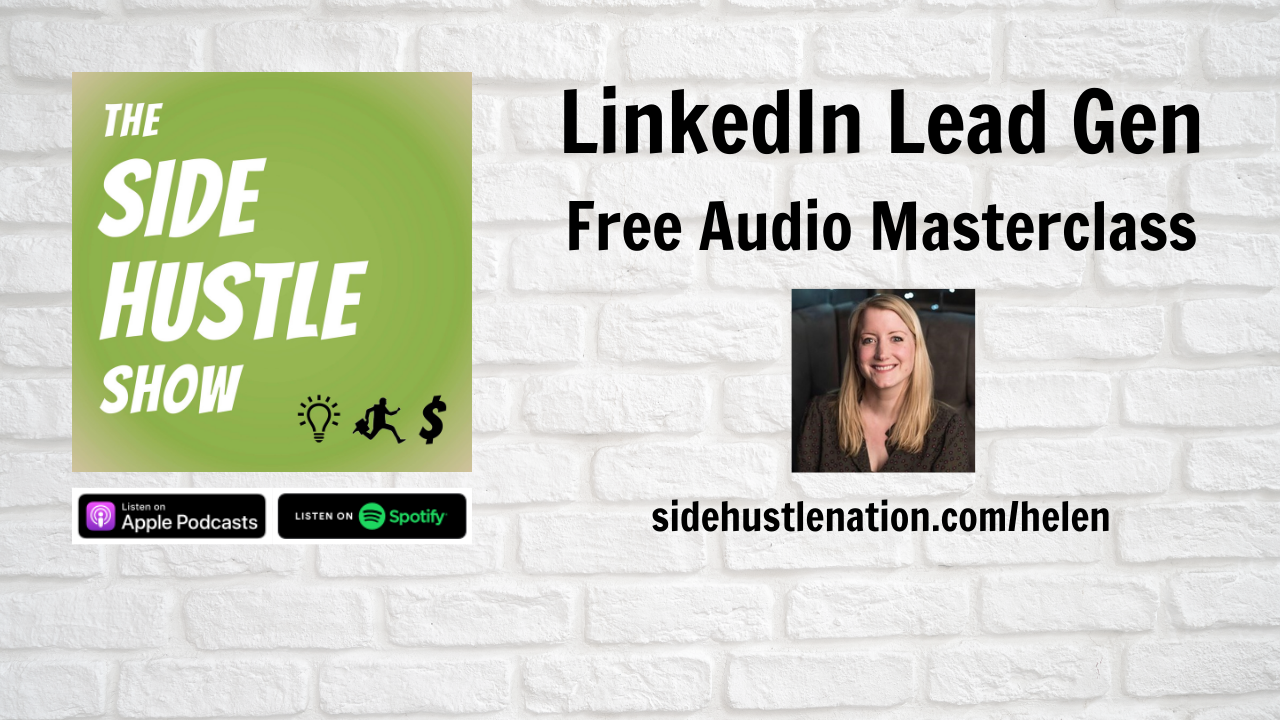 LinkedIn Lead Gen Headliner Background