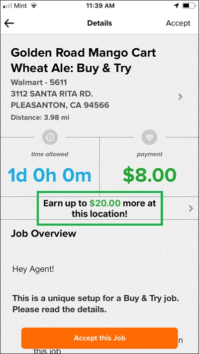 field agent stacking jobs