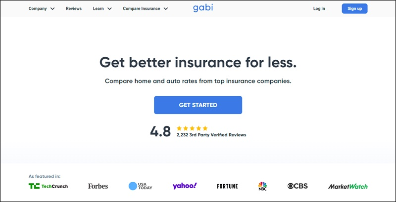 save on insurance with gabi