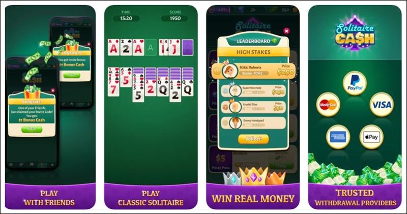 solitaire cash app
