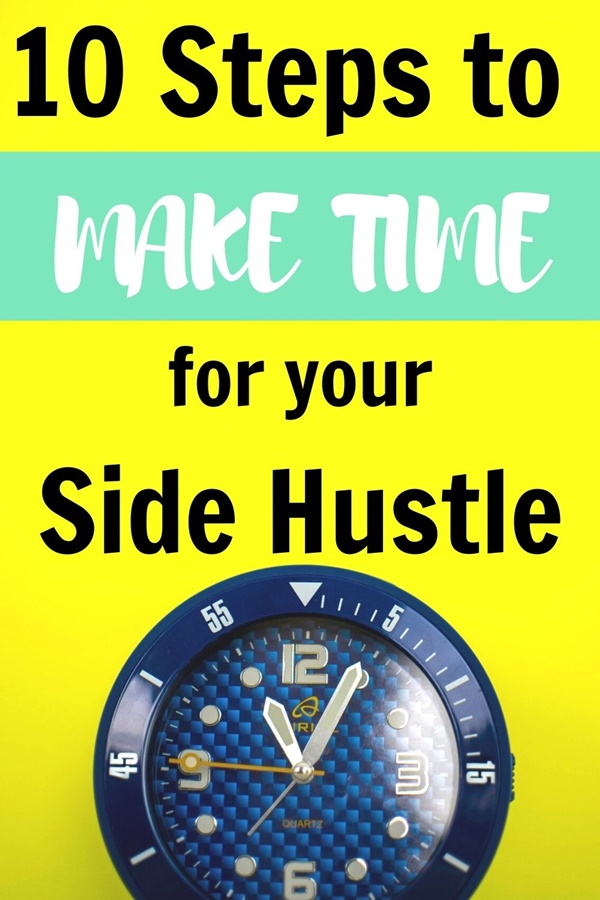 making time for a side hustle