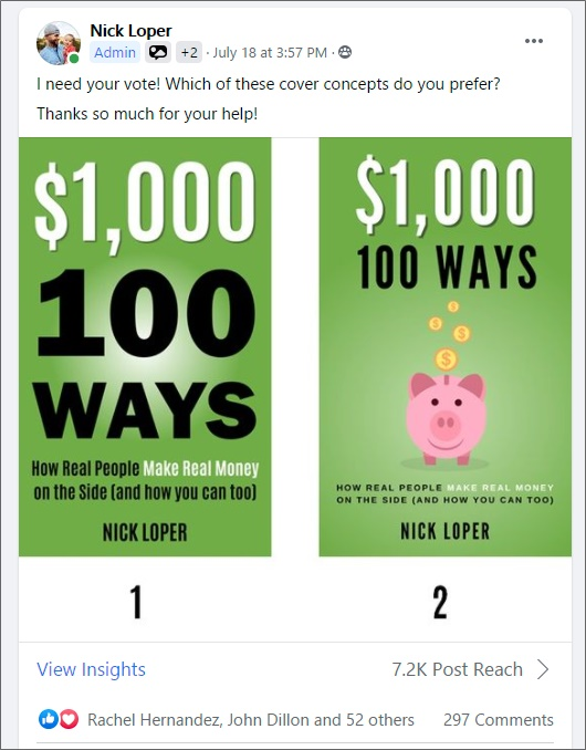 1k 100 ways facebook cover vote